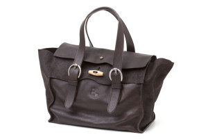 Borsa doppia pattina  con alamaro grande donna  Art. 218 // Origin collection cm 33x27x17